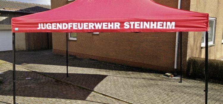 Zelte mit Aufdruck nach Wunsch